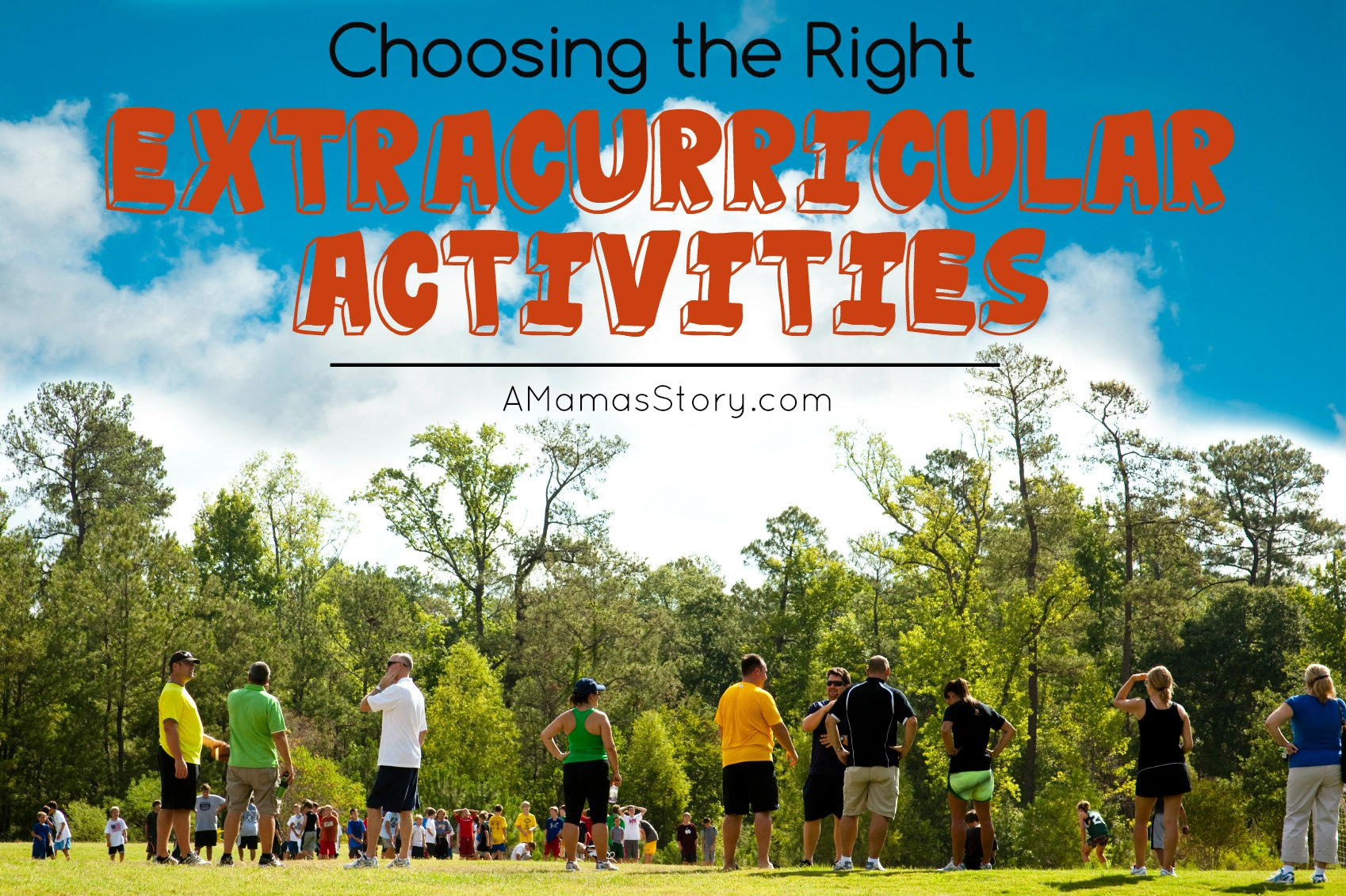 Choosing the Right Extracurricular Activities