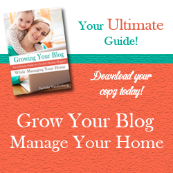 Growing Your Blog While Managing Your Home