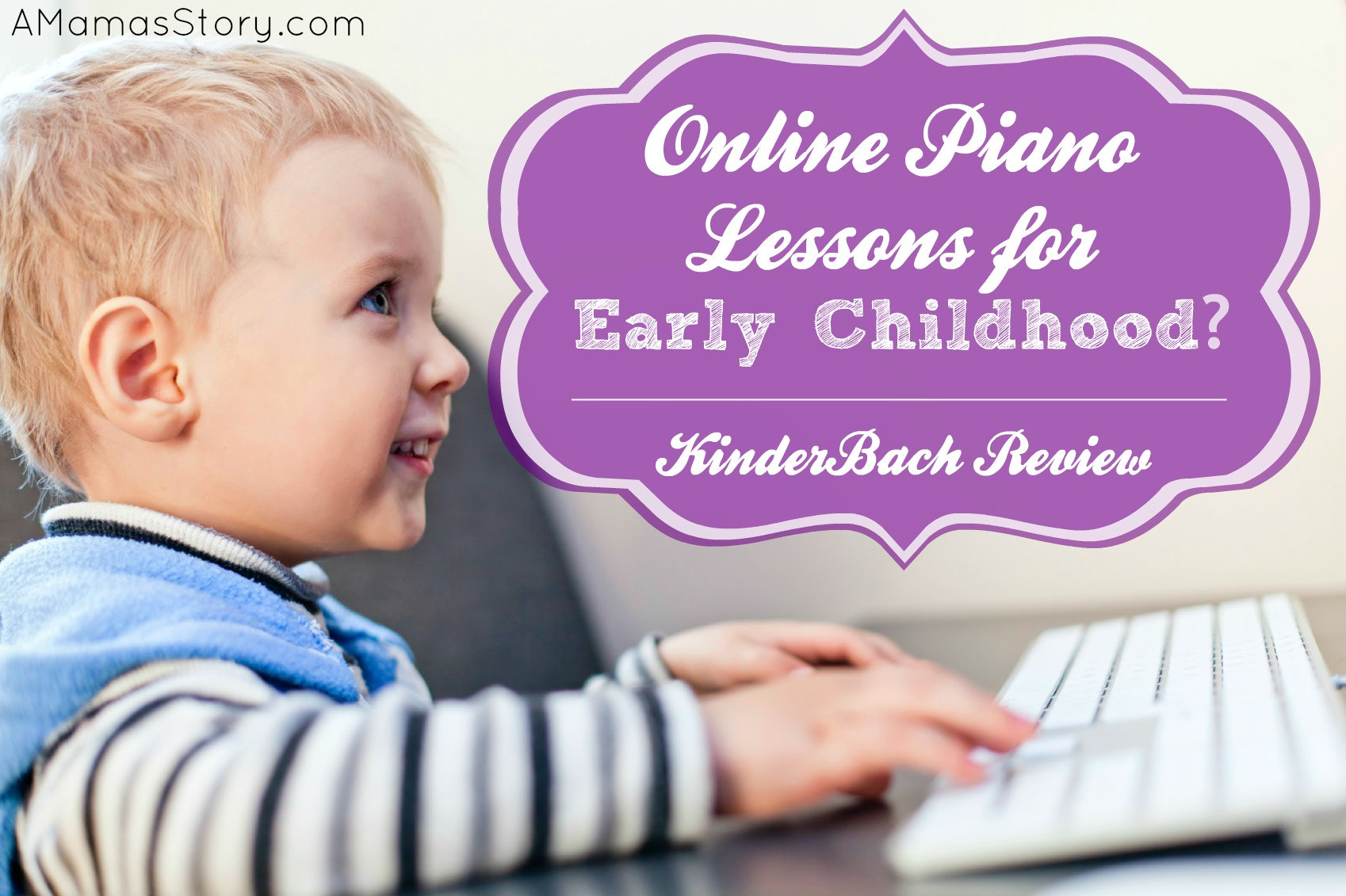 Online Piano Lessons for Early Childhood? {KinderBach Review}