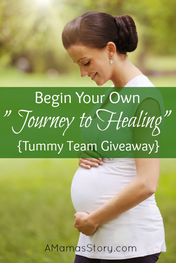 "Begin Your Own ""Journey to Healing"" {Tummy Team Giveaway}"