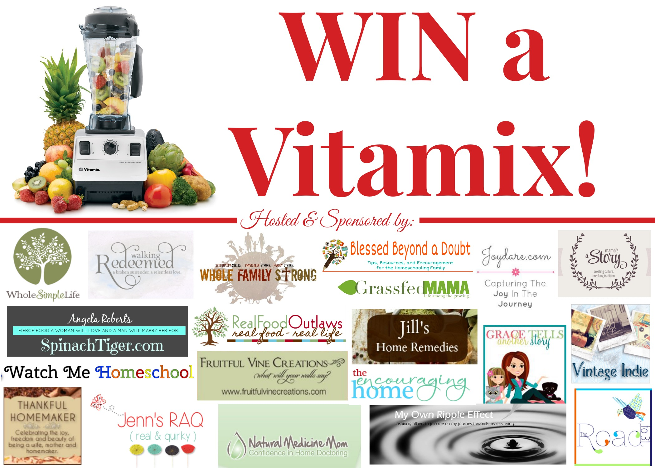 Enter to Win Your Own Vitamix!