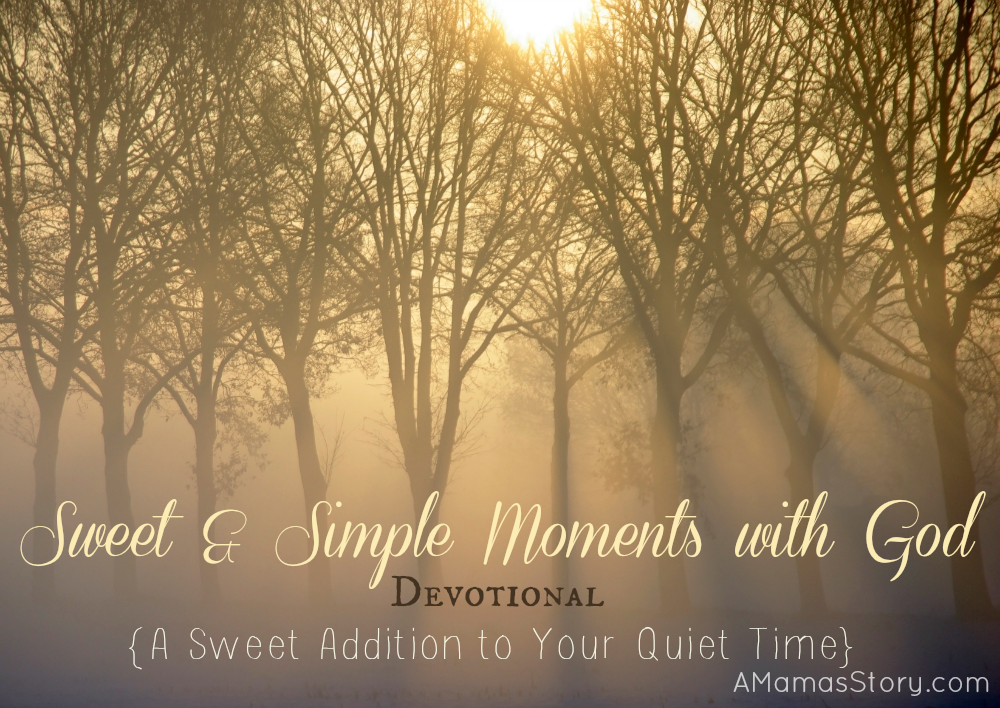Sweet and Simple Moments with God Devotional