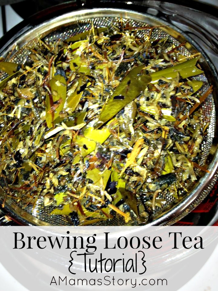 Brewing Loose Tea {Tutorial}