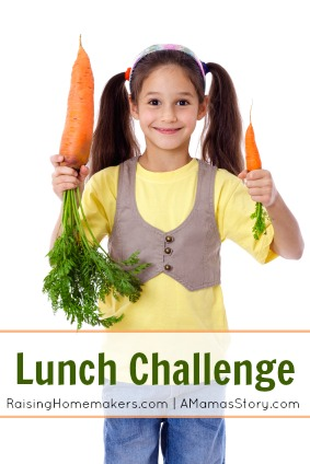 Lunch Challenge {Healthy Lunches for Your Family}