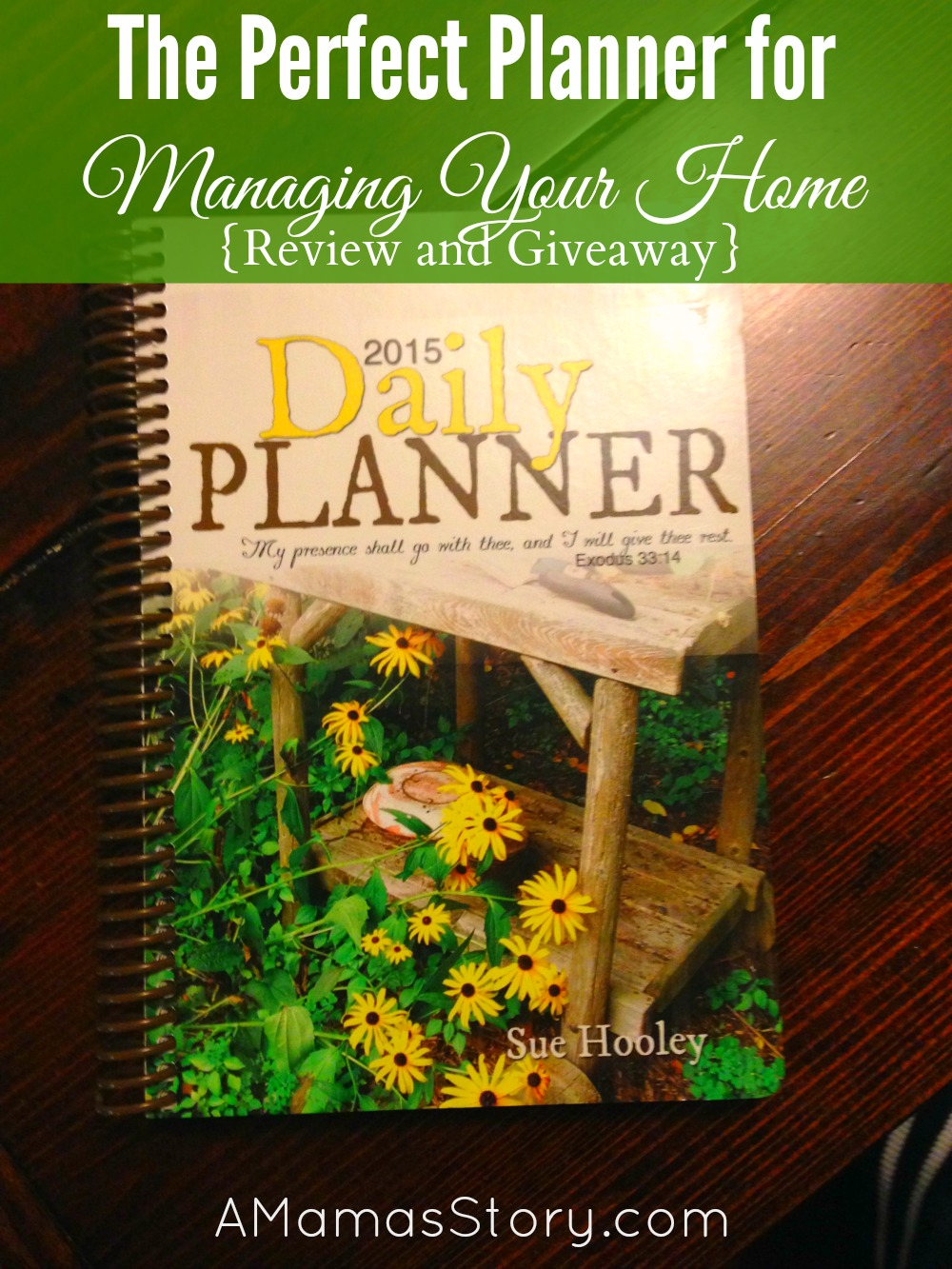 The Perfect Planner for Managing Your Home {Review and Giveaway}
