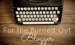 Burned Out Blogger