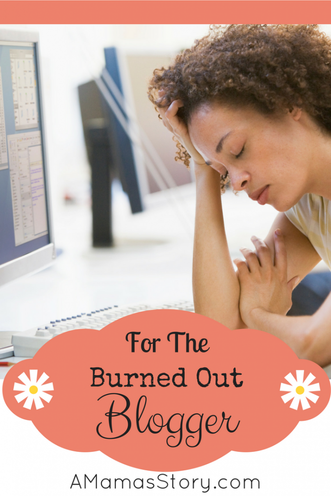 burned-out blogger