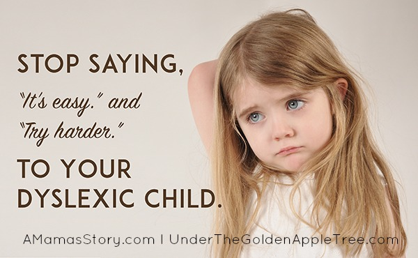 How To React To Dyslexia In Children