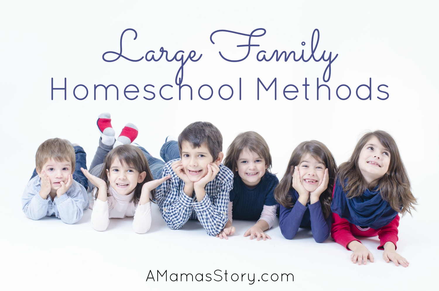 3 Methods for Homeschooling the Large Family