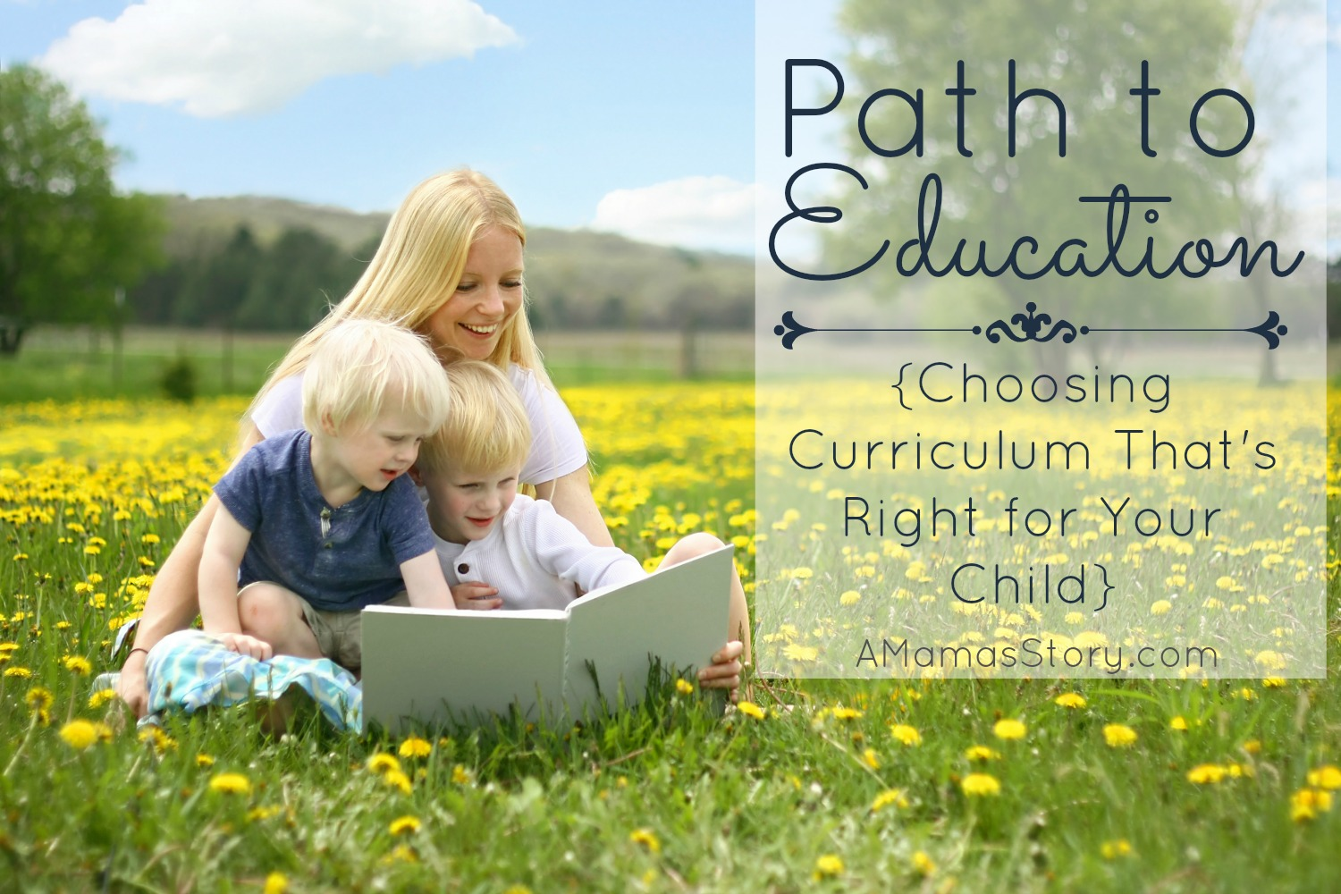 Path to Education {Choosing Curriculum That's Right for Your Child}