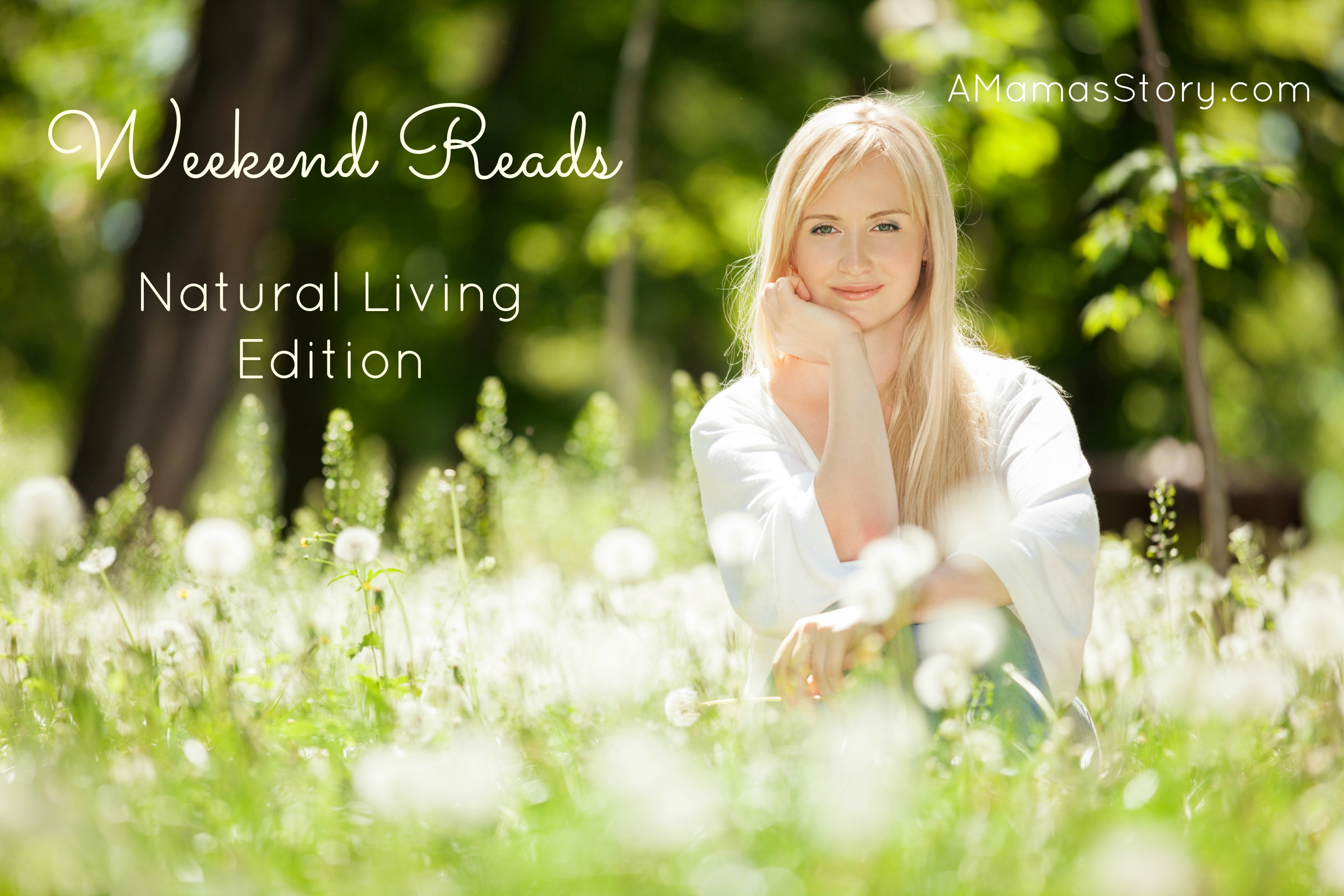 Weekend Reads {Natural Living Edition}