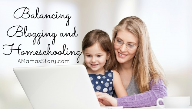 blogging while homeschooling