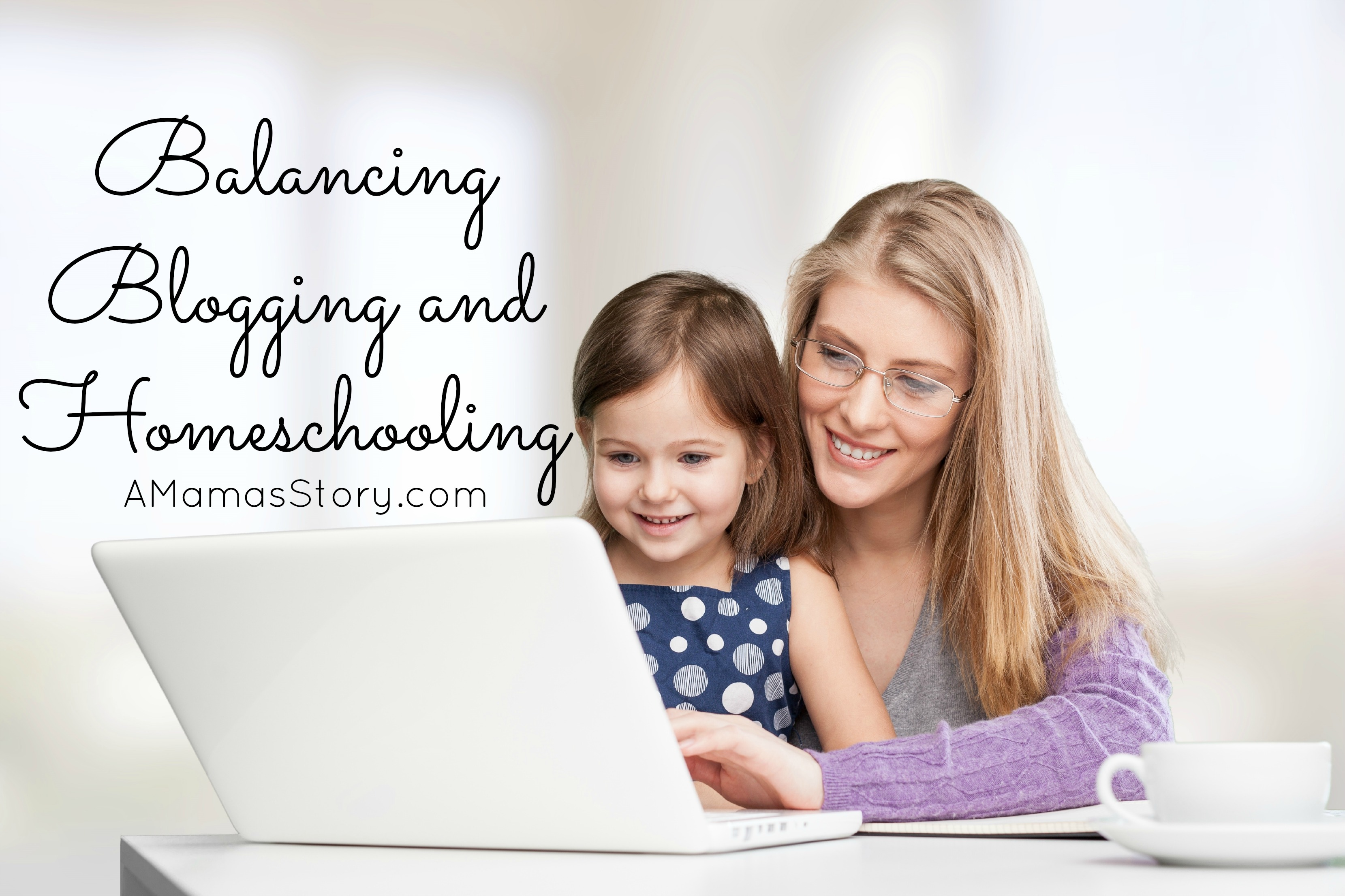 Balancing Blogging While Homeschooling