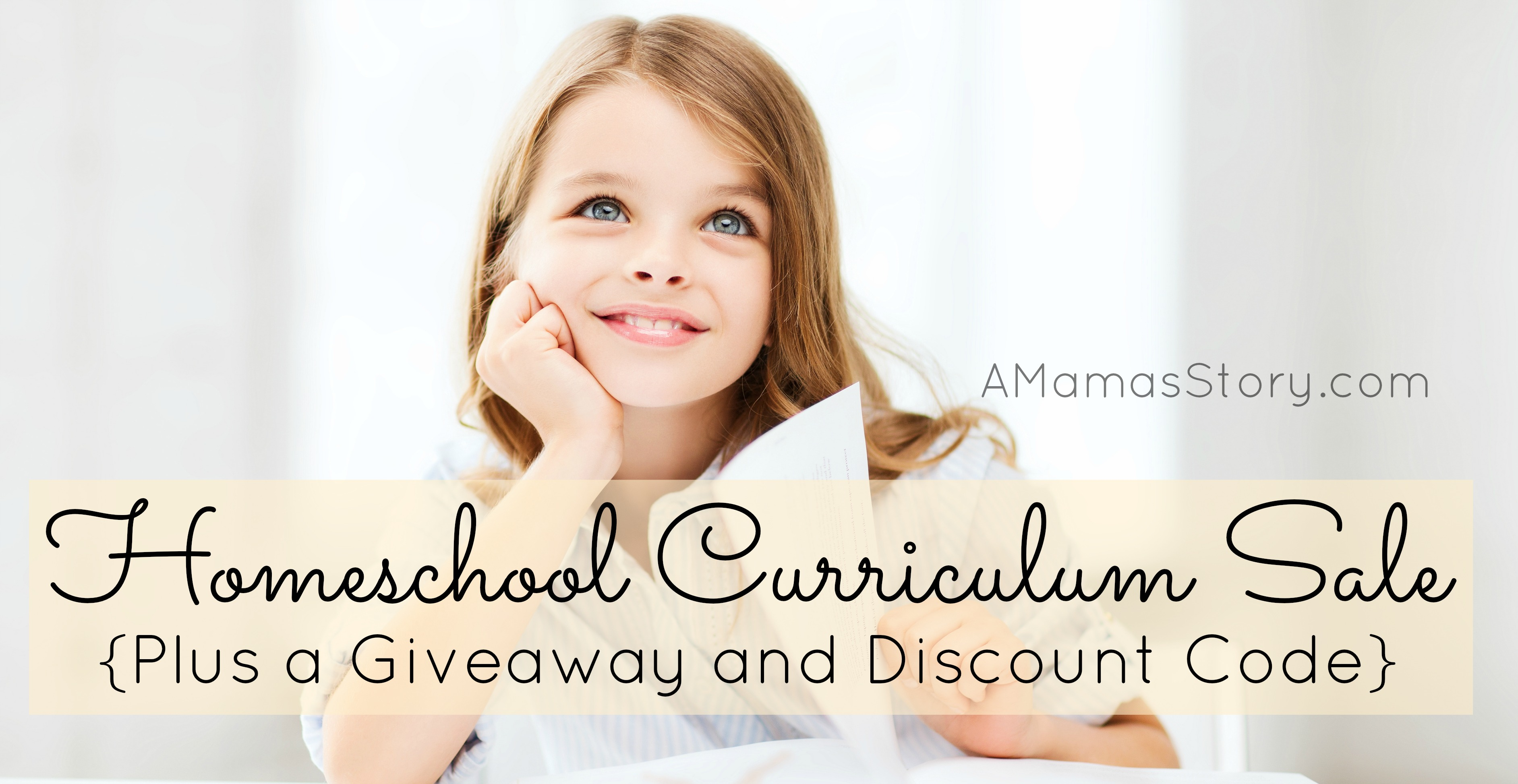 Homeschool Curriculum Sale {Plus a Giveaway and Coupon Code}