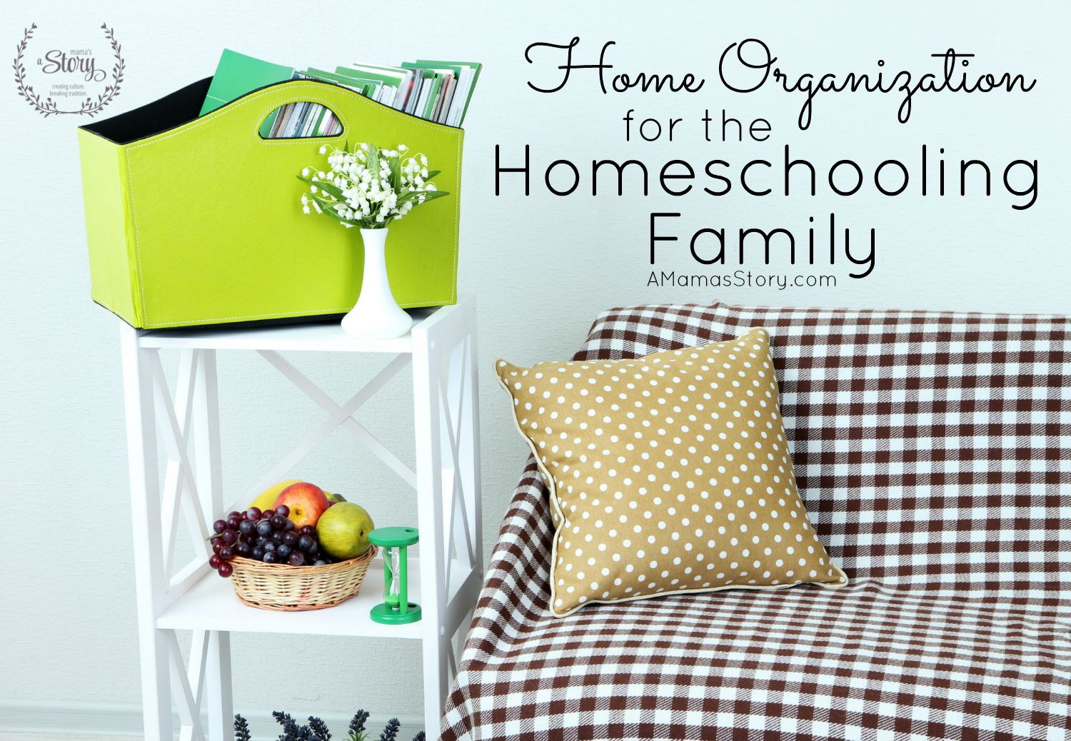 Home Organization for the Homeschooling Family