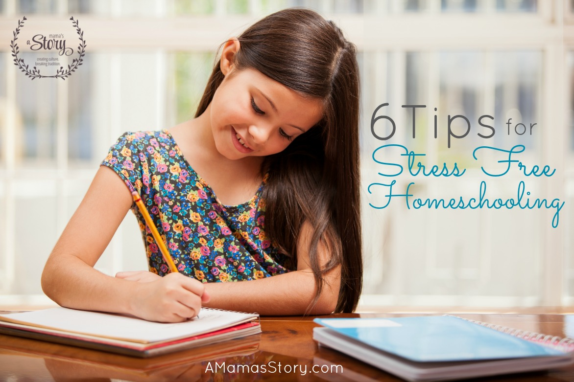 6 Tips for Stress Free Homeschooling
