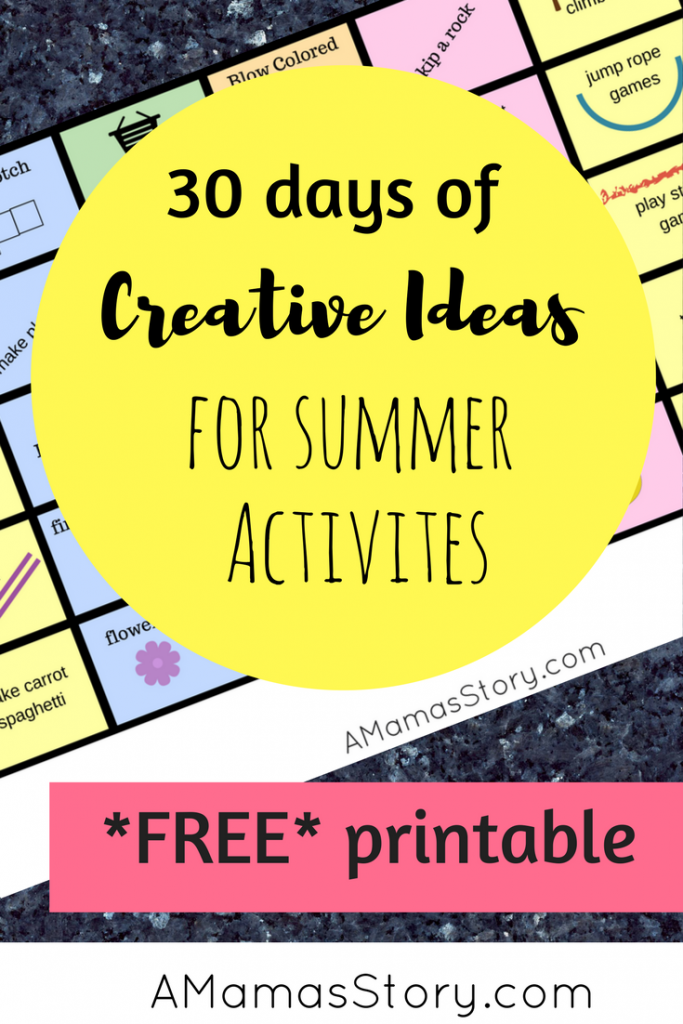 creative ideas for summer