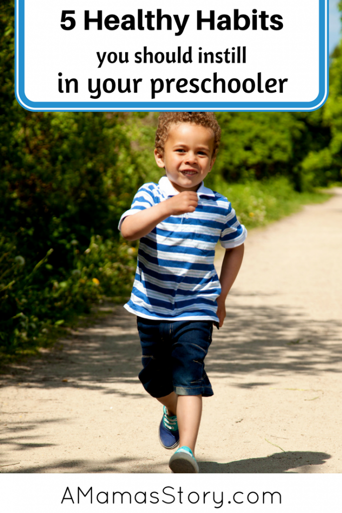 5 Healthy Habits to Teach Your Preschooler