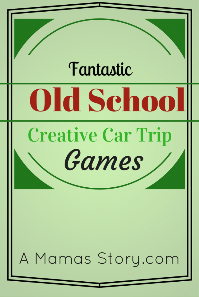 Fantastic Old School Creative Car Trip Games
