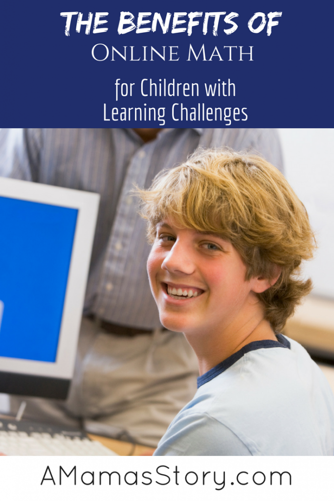 The Benefits of Online Math for Children with Learning Challenges