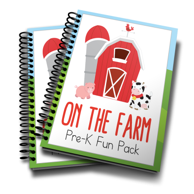 On the Farm Preschool Activity Pack (August Freebie)