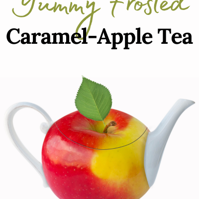 Yummy Frosted Caramel-Apple Tea