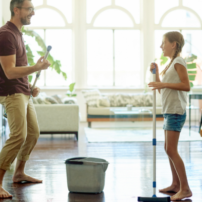 My Top 3 Large-Family Spring Cleaning Tips