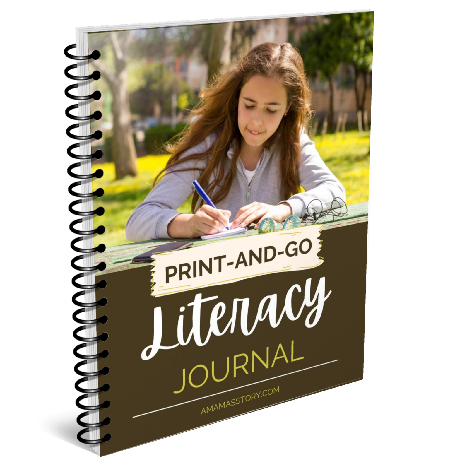 Print and go literacy journal.